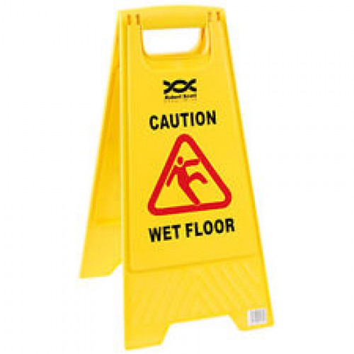 Floor Stand Safety Sign