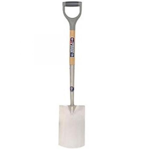 S&J Digging Spade Wood Hdle