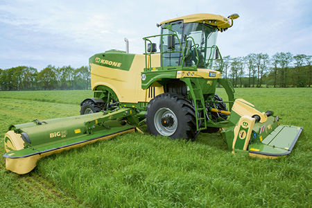 Krone Self Propelled Mower Conditioner