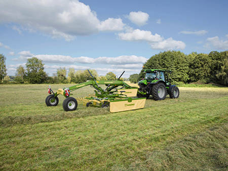 Krone Side Delivery Rakes