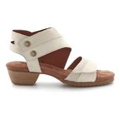 Walking Cradle Calista Bone Sandal in a W and WW Width
