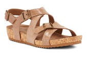 Walking Cradle Pacific Taupe Sandal in a W and WW Width