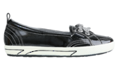 FRANKiE4 SOPHiE II Active Black Patent Slip-on Shoe