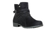 Propet  Black WJ015 Shelby Ankle Boot in a WD Width