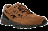 Propet Stability Walker Choco Nubuck M2034 - Walking Shoe in a 5E Width