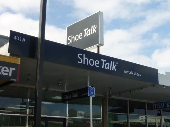 Shoe Talk store in Auckland, selling wide fitting shoes for men and women