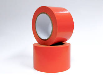 30m Orange PVC Masking Tape