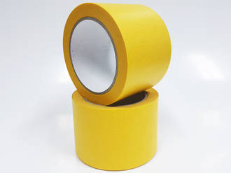Yellow Washi Acrylic Paper Tape