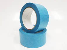 Blue Washi Acrylic Paper Tape