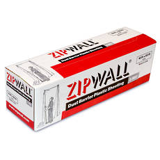 ZipWall® Dust Barrier Plastic Sheeting