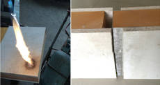 Magnesium Oxide Wall Board -Flame barrier