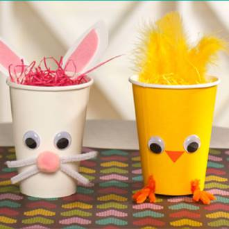 How to make your own Easter baskets