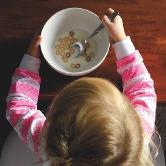 Getting young kids to try new foods