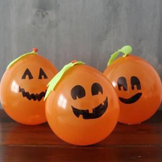 Halloween pumpkin balloons