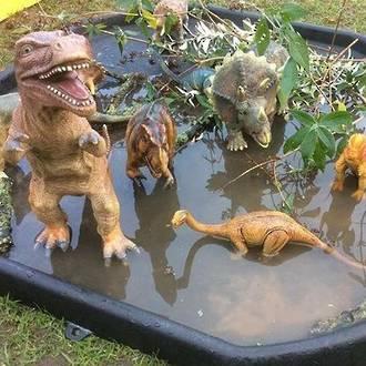 Make your own dinosaur world