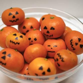 Make your own mini Halloween pumpkins