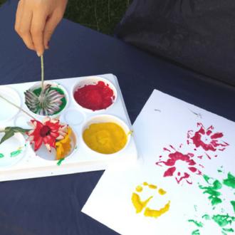 Nature art activities for toddlers & preschoolers