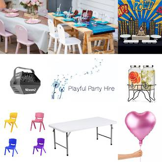 Playful Party Hire