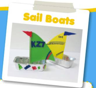 Make your own toy sail boats