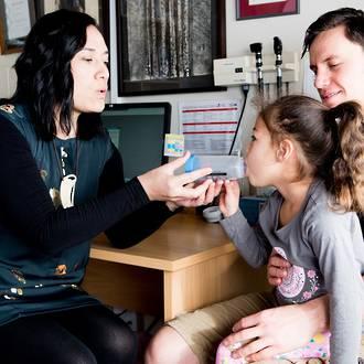 Asthma treatment for children
