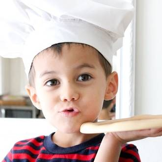 Basic cooking skills for young kids