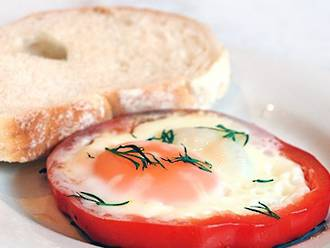 Fancy eggs on toast!