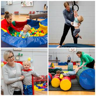 Kids Preschool Gym Classes at YMCA Auckland