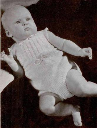 Wool in the history of baby clothing