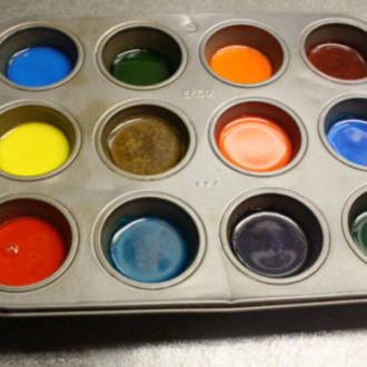 How to make watercolour paints for kids
