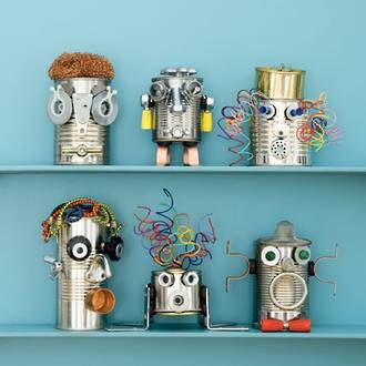Make your own recycled robots