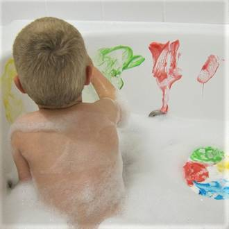 Make your own bath paints