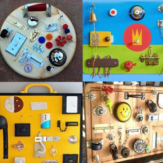 Make your own sensory board