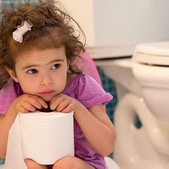 Toilet training toddlers without the stress
