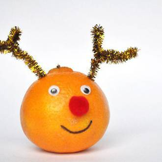 Rudolph the red nosed orange