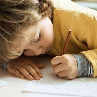 Spotting a left-handed child