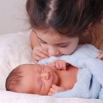 Preparing toddlers & preschoolers for a new baby