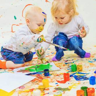 Questions to ask preschoolers about their artwork