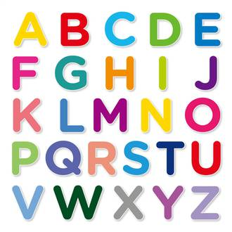 Teaching preschoolers the alphabet & letters