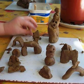 9 Benefits of playing with clay