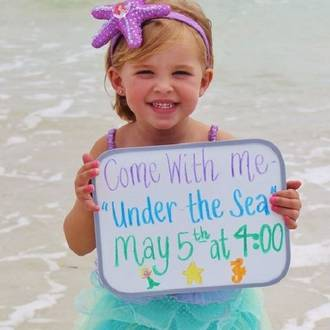 Mermaid party ideas for toddlers & preschoolers
