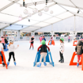Auckland-Ice-Rink-Kids-Skating-Aotea-Square