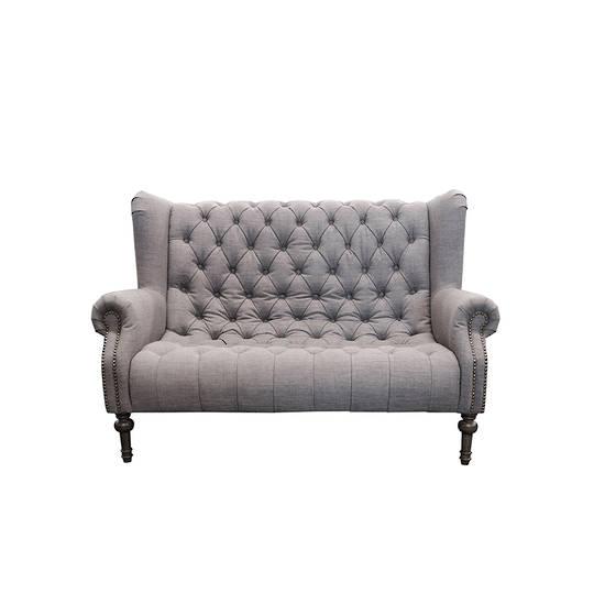 Theo Sofa Highland Grey British Wool