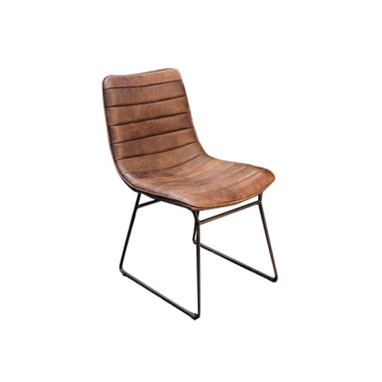 Amalfi Leather Dining Chair