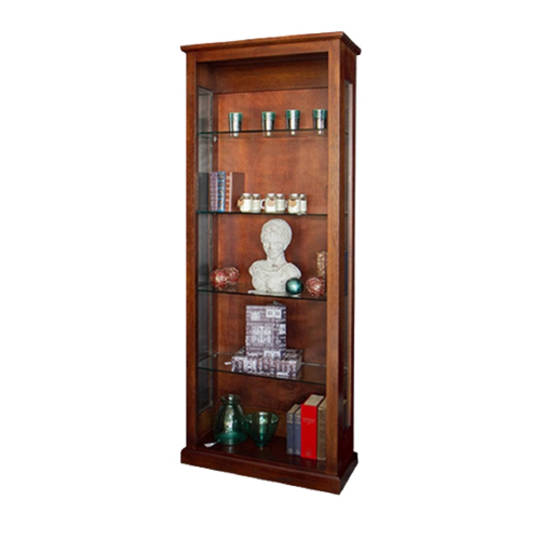 American Oak Display Cabinet NZ Made