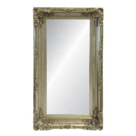 Chateau Wall Mirror Antique Champagne