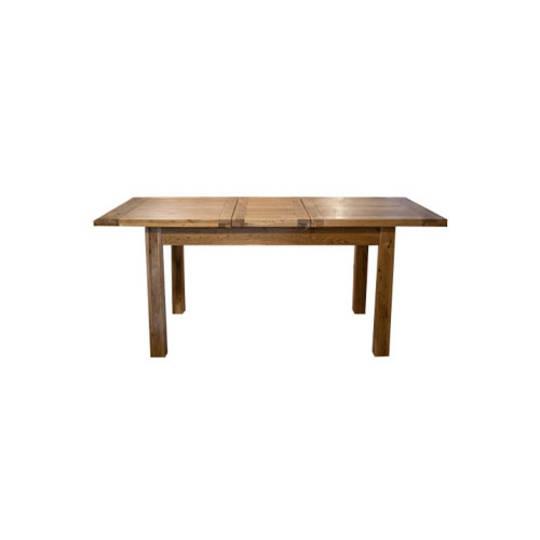 Antique Oak Light Dining Extension Table 1400/1800