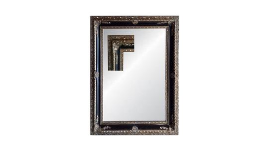 Antique Ornate Bevelled Grand Mirror