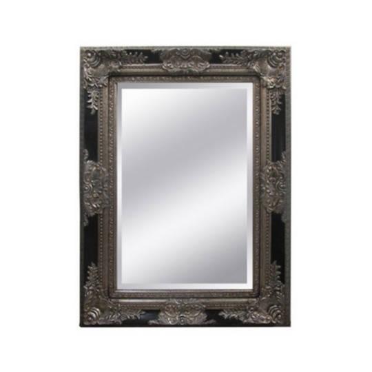 Antique Ornate Bevelled Mirror