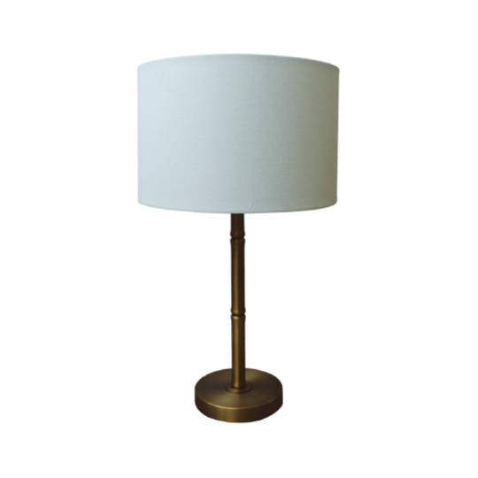 Bamboo Brass Table Lamp