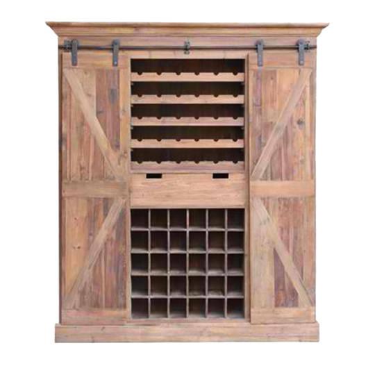 Bar & Wine Unit With Sliding Doors